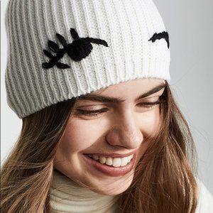 New Kate Spade anew York Winkie Beanie Hat